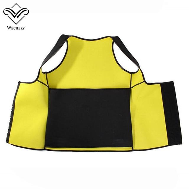 Wechery Slimming Body Shaper Tops Tummy Control Belt Women Modeling Strap Sweat Sport Clothes Neoprene Shapewear Flat Belly 4