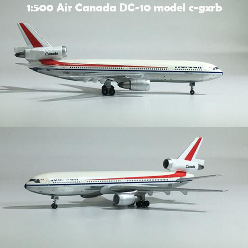 1:500  Air Canada DC-10 Model C-gxrb  Alloy Collection Model