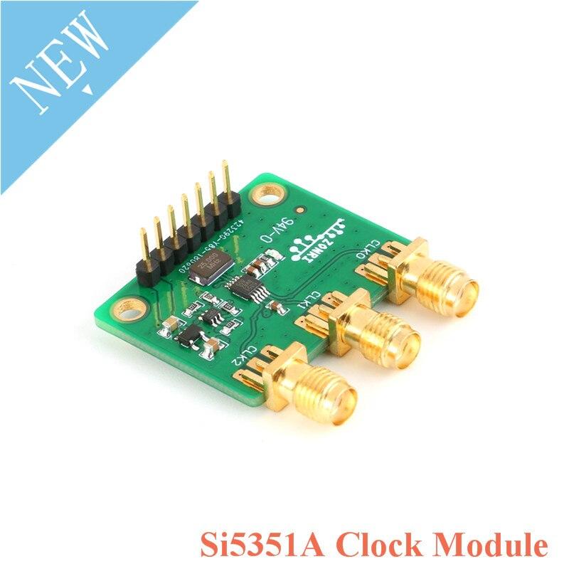 Генератор сигналов Si5351A STM32, 3 канала, 8-160 МГц, для Arduino, постоянный ток 3,3 В, 5 В