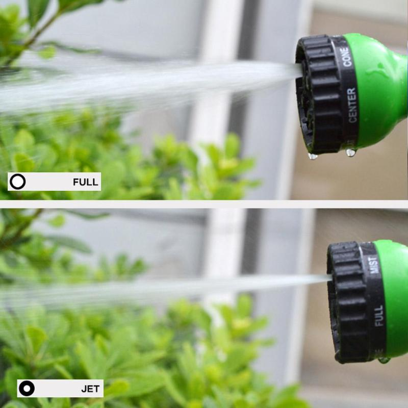 25FT-200FT Expandable Flexible Water Plastic Hoses High Grade Fabric Pipe Multifunctional Watering Spray Gun for Car Garden Home Home & Garden