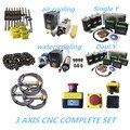 2020 Förderung 3 aixs CNC komplette SET linearführung ball schraube schrittmotor spindel kabel kette für CNC builde