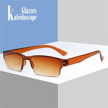 Resin Lenses Presbyopic Glasses s Men Women Half Frame Reading Diopter +1.0 1.5 2.0 2.5 3.0