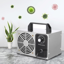 28g/h Ozone Generator Ozonator Machine O3 Deodorizer Sanitizer Air Purifier Home Air Cleaner with Timing Switch 220V