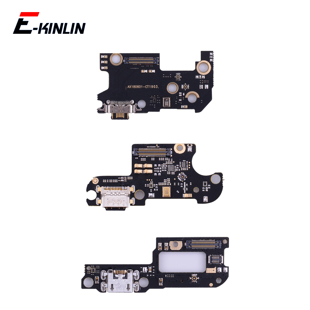 Charger USB Dock Charging Dock Port Board Mic Flex Cable For XiaoMi Mi 9T Pro 9 8 SE A3 A1 A2 Lite