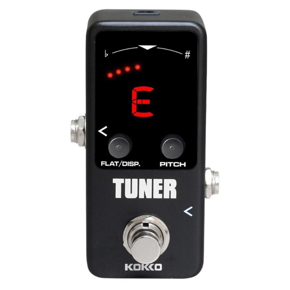 kokko-Pedal-Guitar-Tuner-Dual-Mode-LED-Display-Bass-With-Down-regulation-Function-Double-Display-Mode