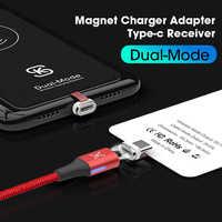 SIKAI QI chargeur de charge sans fil récepteur Module de correction pour type-c adaptateur de charge rapide magnétique Mobile pour huawei samsung