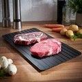 Новый лоток для разморозки  быстрый нагрев  поддон для быстрого замораживания мяса  еда  электричество  антипригарное  без химических вещес...