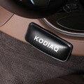 Искусственная кожа на ногу подушка для автомобиля наколенники для Skoda Kodiaq подушка для сиденья автомобиля подушка для поддержки ног