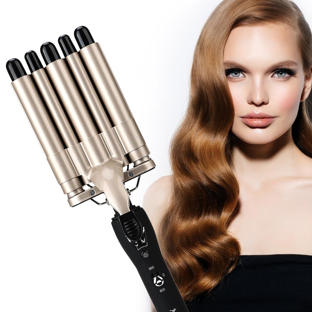 cabelo vacilar crimper secador de cabelo curlers ferramentas