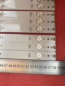 Image 5 - Новинка 10 шт./лот Светодиодная лента с 6 светодиодами для подсветки Hisense LTDN55K321 UB55EC591 HD550DU B51 LED55K320U SVH550AF2