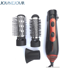 3-in-1 Professinal Styling Tools Hairdryer Hair Curling Straightening Comb Brush Hair Dryer Salon Multifunctional 220V 1200W 10in1 110v 220v power multifunctional hair curlers styling tools hair sticks kinkiness hair dryer machine comb hairdressing tool