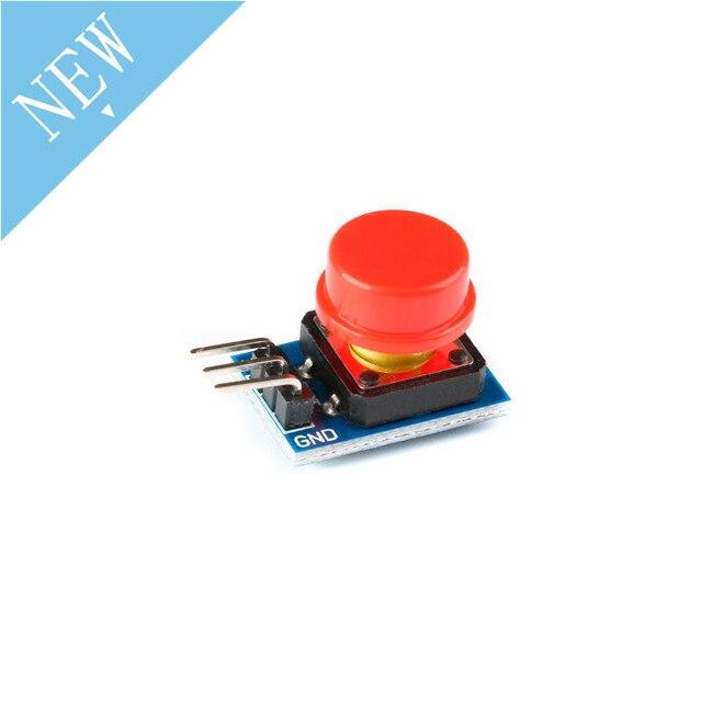 Bouton conseil 2*12mm grande clé module lumière interrupteur tactile noir bleu vert rouge jaune chapeau pour Arduino 12X12MM PCB bricolage électronique