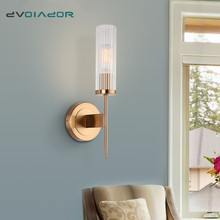 Nordic Wall Lamp Modern Wall Sconce Stair Light Fixture Living Room Bedroom Bedside Lights Indoor LED Wall Light