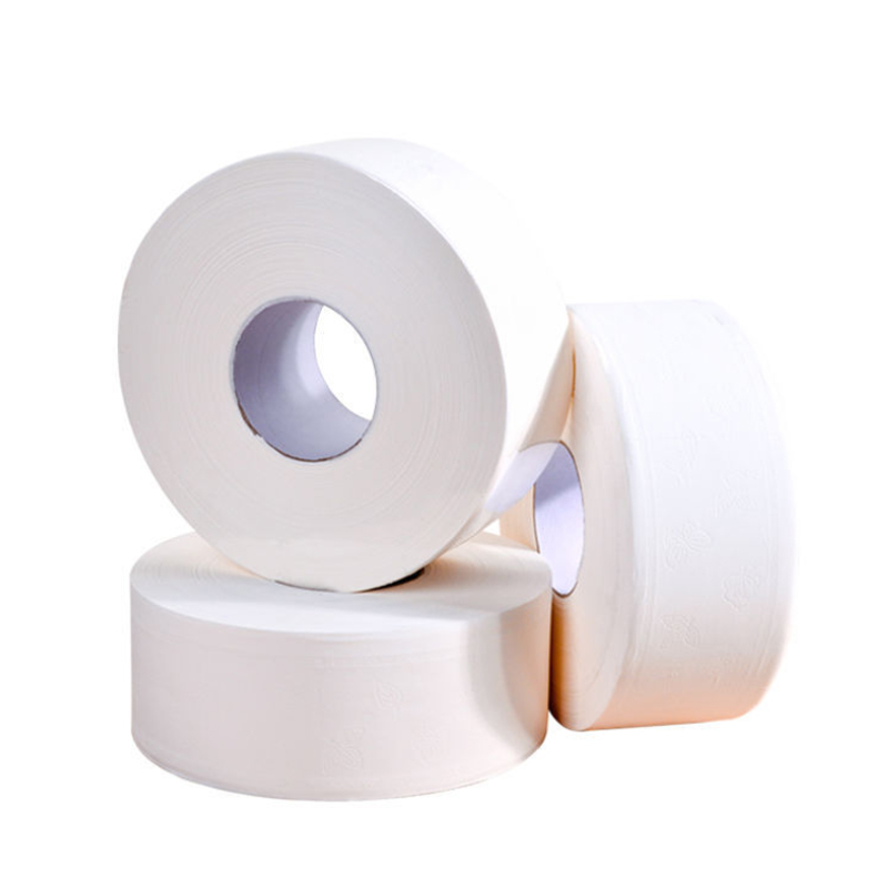 Big Roll Toilet Paper 4 Layers Thickened Household Toilet Tissue Paper Towel