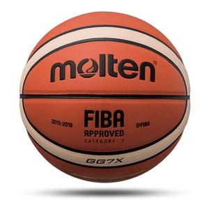 Image 5 - Uomini Palla Da Basket Formato Ufficiale di trasporto 7/6/5 Cuoio DELLUNITÀ di elaborazione Esterna Interna di Alta Qualità Partita di Formazione Donne Bambino Basket baloncesto