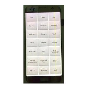 "Image 2 - Originale 5.5 ""AMOLED Per Samsung Galaxy S7 bordo LCD G935A G935U G935F Display LCD Touch Screen Digitizer Assembly Con linea"