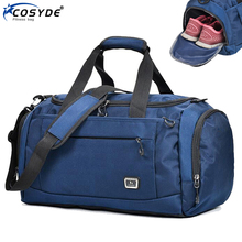 Outdoor Sport Training Gym Bag Waterproof Sporting Tote For Male Fashion Big Women Fitness Bag For Shoe Travel Yoga Handbag Men
