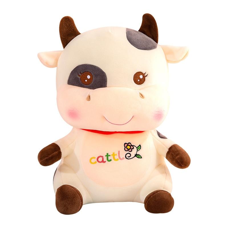Купить 25/35/45 см kawaii cow brothers плюшевые мягкие игрушки куклы