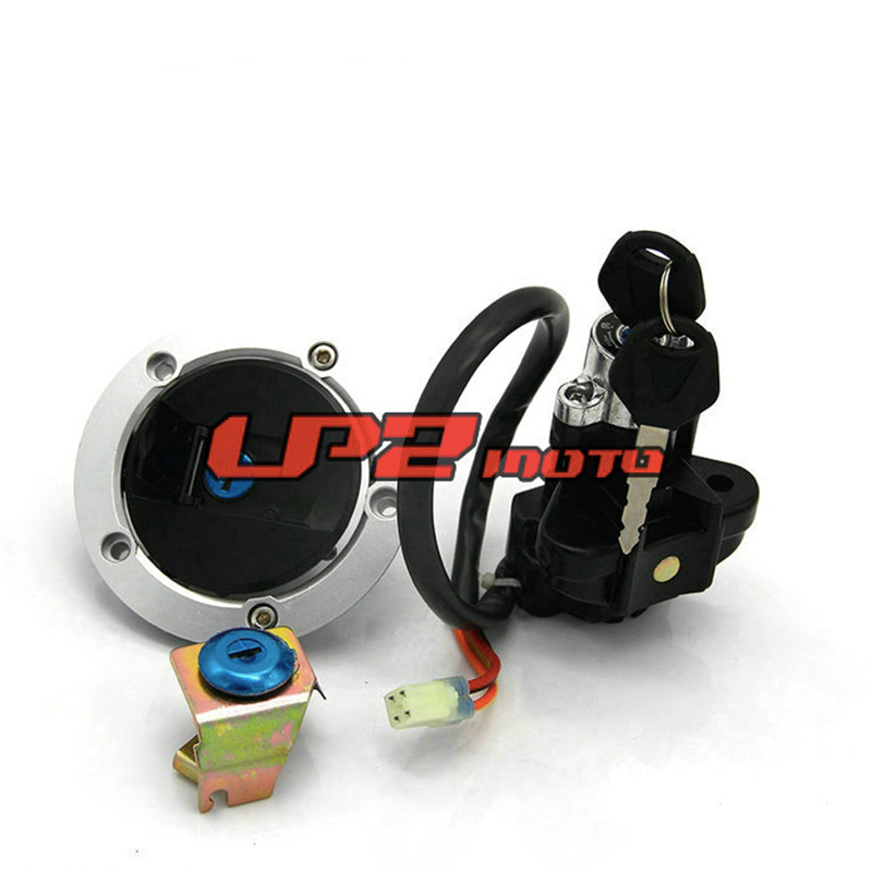 Ignition Switch Gas Cap Seat Lock Key Set For SV650 08-12 SV650A ABS 03-09 SV650SF Sport 08-09 SV650S SV1000S 03-07 03-05