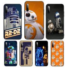 BB8 BB 8 R2D2 Robot Phone Case For SamsungA 01 11 31 91 80 7 9 8 12 21 20 02 12 32 star s eCover Fundas Coque