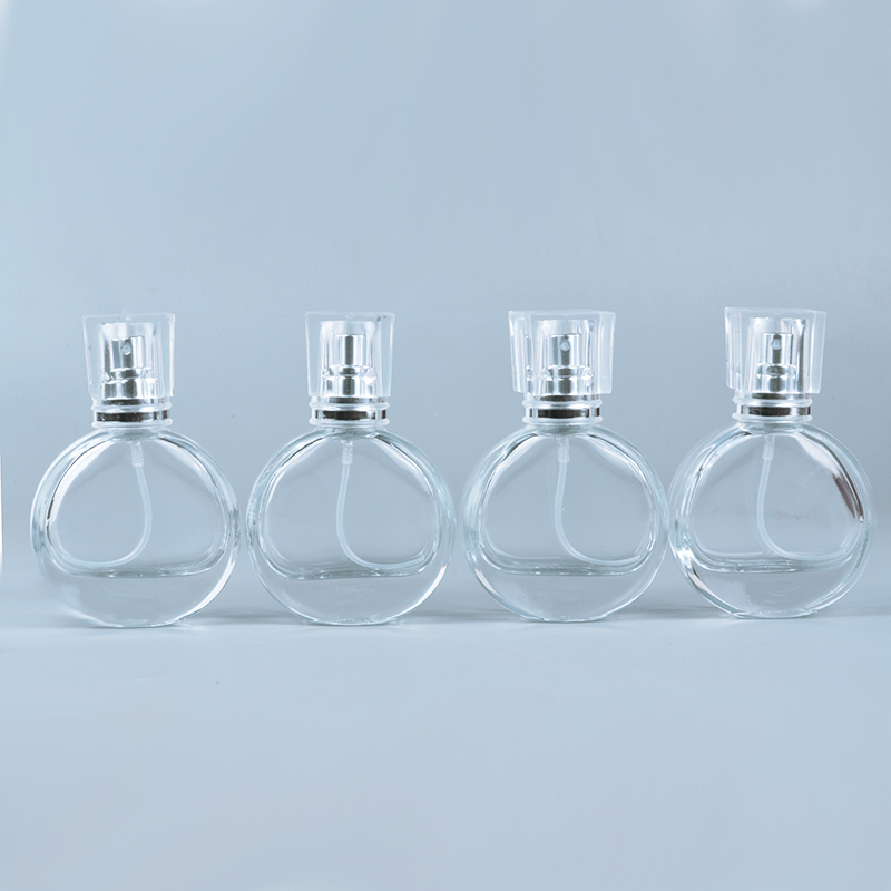 MUB - 1pieces 25ml Glass Perfume Bottles Atomizer Spray Refillable Bottle Spray Scent Case With Travel Size Portable