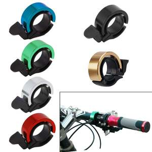 Bicycle-Bell Horn Alarm-Ring Cycling-Handlebar Aluminum-Alloy for Mtb 90db Q-Type New