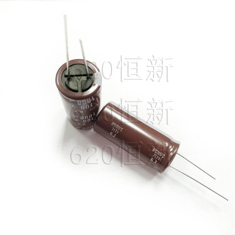 10pcs NEW CHEMI-CON NIPPON KY 100V1000UF 18x40MM Electrolytic Capacitor 1000UF 100V NCC Ky 100V 1000UF