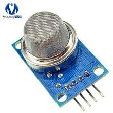 MQ2 MQ-2 газа Сенсор модуль дым-бутан метан обнаружения для Arduino DC 5V 150mA сигнала аналоговые ttl Выход модуль
