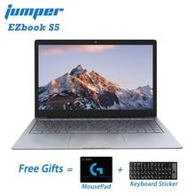 Jumper EZbook S5 14.0 Inch 8GB Ram 256GB SSD CPU N3450 1920*1080 FHD IPS 1.25KG Light 4600mAh Windows 10 Notebook Student Laptop