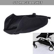 Carrinho de bebê, cadeira fixável para armazenamento de alimentos e garrafa, cesta para carrinho de bebê babyzen yoyo yoya