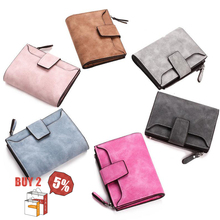 Women's Wallet Hasp Small And Slim Coin Pocket Purse Luxury