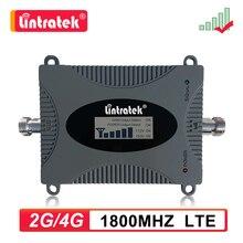 Lintratek 4G LTE 1800MHz DCS Мобильный телефон усилитель сигнала GSM 1800 B3 ретранслятор ЖК дисплей сотовый усилитель без антенны dd