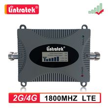 Lintratek 4G Lte 1800Mhz Dcs Mobiele Telefoon Signaal Booster Gsm 1800 B3 Repeater Lcd Internet Call Cellulaire Versterker geen Antenne Dd