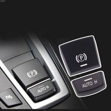 רכב בלם יד חניה בלם P כפתור מתג כיסוי עבור עבור BMW 5 7 F01 F02 F07 F10