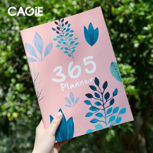 A4 Notebook Diary Agenda 2020 2021 Planner Organizer 365 Days Plan Journal Yearly Monthly Schedule Book School Office Supplies