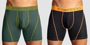 Image 2 - Calzoncillo bóxer de malla deportiva para hombre, ropa interior masculina de secado rápido, transpirable, ligera, talla S XXL, EE. UU., 2 unidades