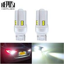 цена на 2x T20 7440 W21W WY21W Super Bright 1800Lm CREE Chip LED Auto Turn Signal Reverse Lamp Brake Bulb Daytime Running Light 12V 24V