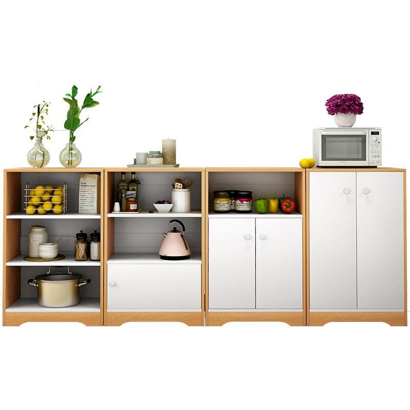 >Cupboard <font><b>kitchen</b></font> storage <font><b>cabinet</b></font> simple table side <font><b>cabinet</b></font> solid wood simple tea water <font><b>cabinet</b></font> food side <font><b>cabinet</b></font> shelf