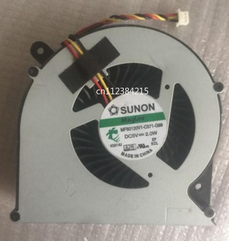 Free Shipping Original Laptop/Notebook CPU Cooling Fan For Sunon MF60120V1-C571-G99 DC5V 2.0W 3PIN