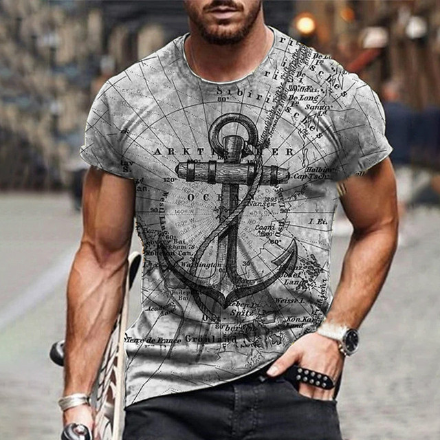 New style hot sale in 2021, 3D men's T-shirt, gentleman style design, short sleeves, summer fashion 2