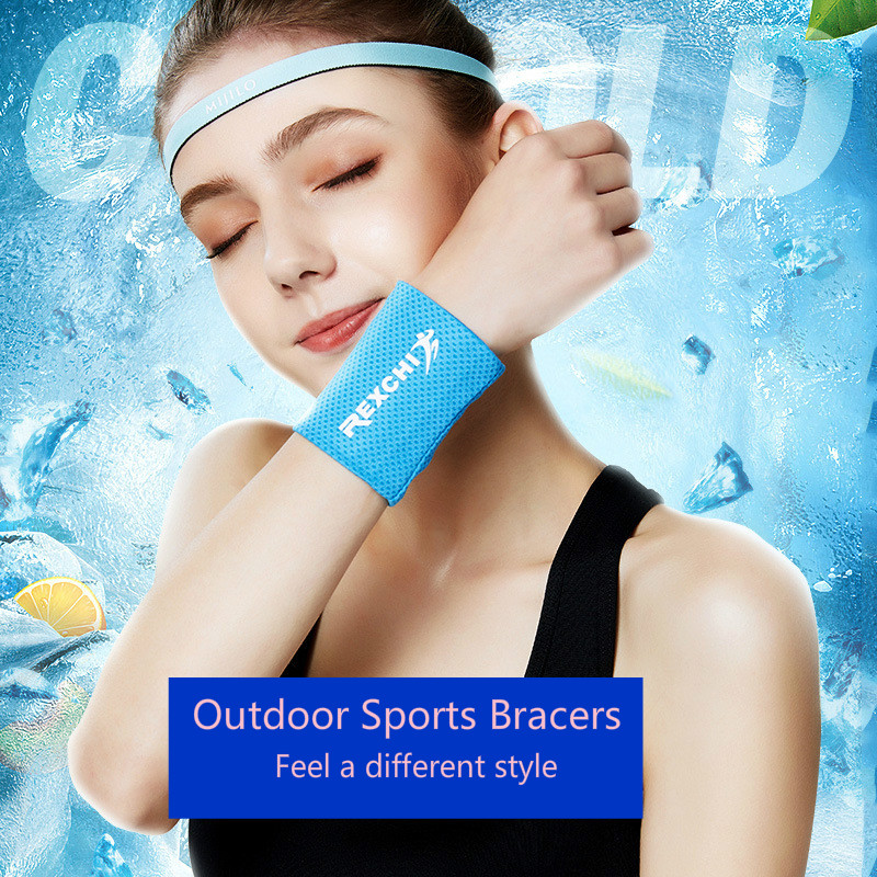 VIP Link New Arrivals Guard Wrist Ice Strap Sports Outdoor Tool Sweat Breathable Quick Dry Riding Sweat Wiping Surprise Activity