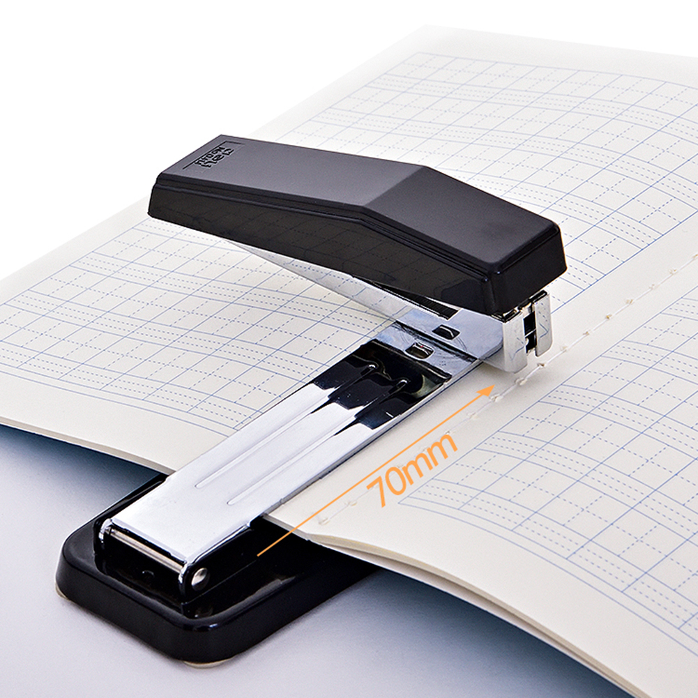 360 Degree Rotating Stapler Head Desktop Stapler With Staples Sharp Chisel  For Office Stationery School  Home