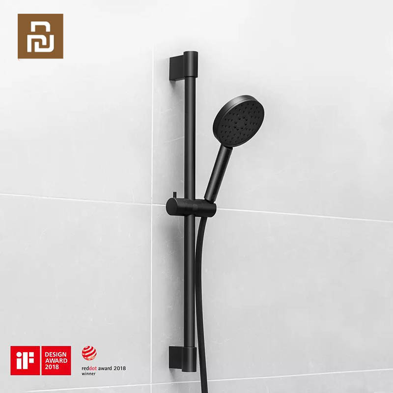 YouPin Dabai Handheld Shower Head hose Lifting rod Set 3 in 1 360 Degree 120mm 53 Water Hole with PVC Powerful Massage Shower|Smart Remote Control|   - AliExpress