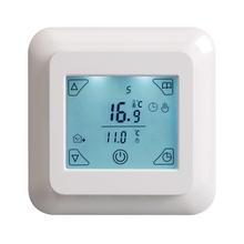 Touch Screen Thermostat Electric Thermostat Room Thermostat Underfloor Heating Programmable Thermostat 16A V8.716 недорого