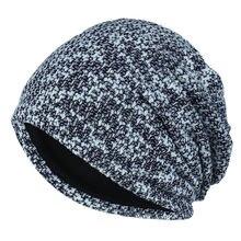 Осенняя шапка тюрбан Женская Теплая Шапка бини 2020 зимняя вязаная