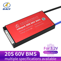 Daly 20S BMS 60V LiFePO4 battery Management System BMS 30A 40A 50A 60A with low current for lithium battery