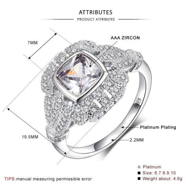 Женские винтажные кольца с фианитом обручальные серебряного