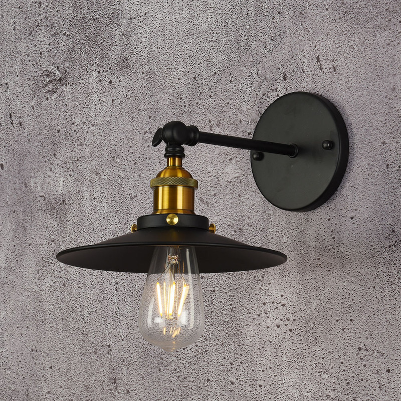 section wall lamp can be adjusted up and down of lamps and lanterns personality single section short wall wall lamp