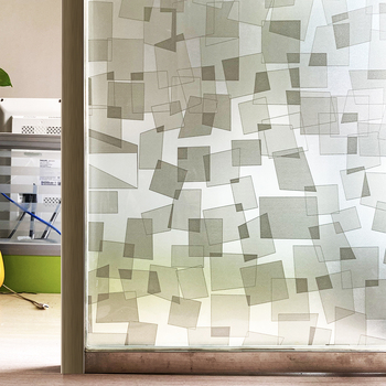 3D Geometric Window Film Stained Glass Decorative Uv Window Sticker Privacy  Frosted Self Adhesive Film Window Decal for Glass luckyyj3d glue free frosted electrostatic self adhesive glass sticker toilet translucent privacy protection,window film sticker