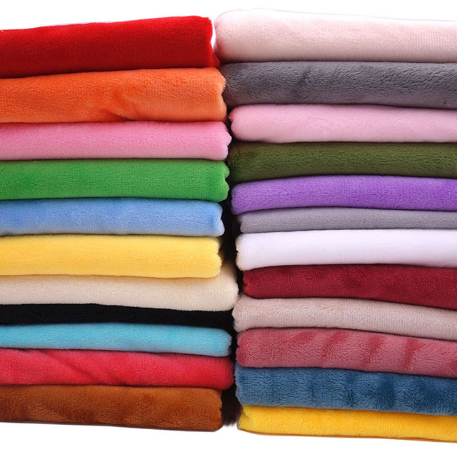 50cm*160cm Short plush crystal super soft plush fabric for sewing dolls DIY Handmade Home Textile Cloth For Toys Plush Fabric 1